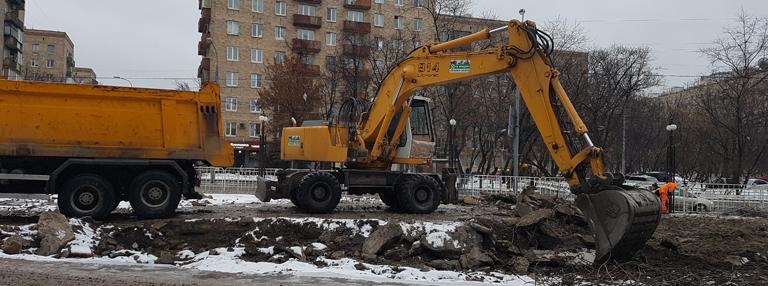 аренда экскаватора в московской области -evroplus.moscow