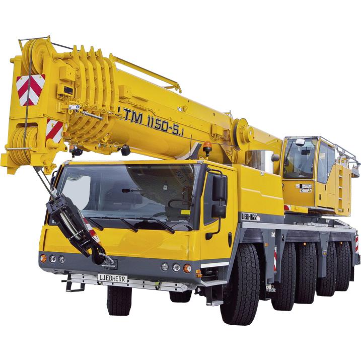 Аренда Автокран LIEBHERR LTM 1150, 150т