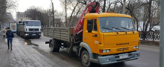 Аренда манипулятора в Москве -evroplus.moscow
