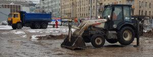 Аренда экскаватора в Москве - evroplus.moscow