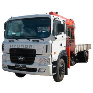 Аренда Манипулятор Kanglim Hyundai-Trago, 7,1 Тн
