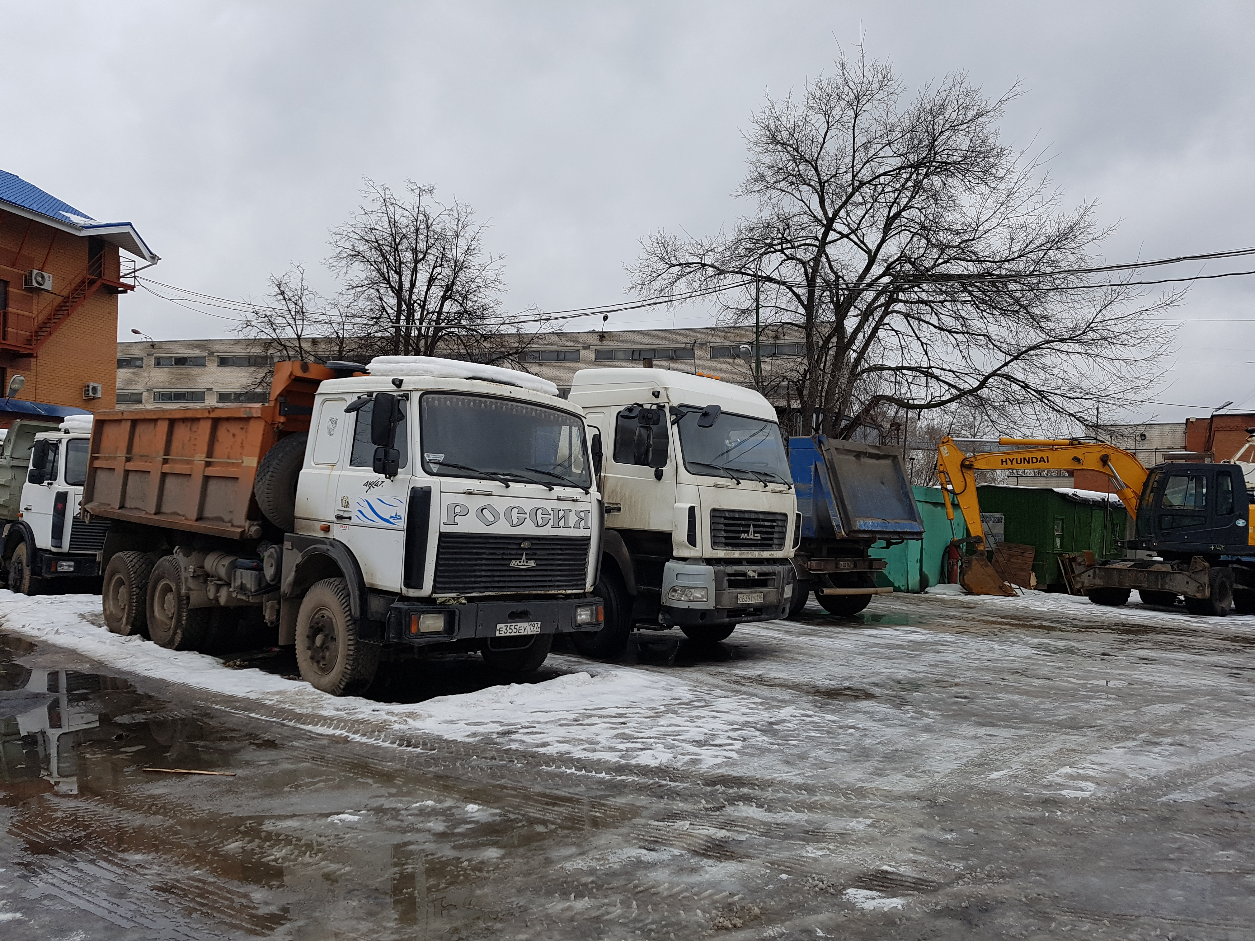 Аренда Самосвал МАЗ 5551