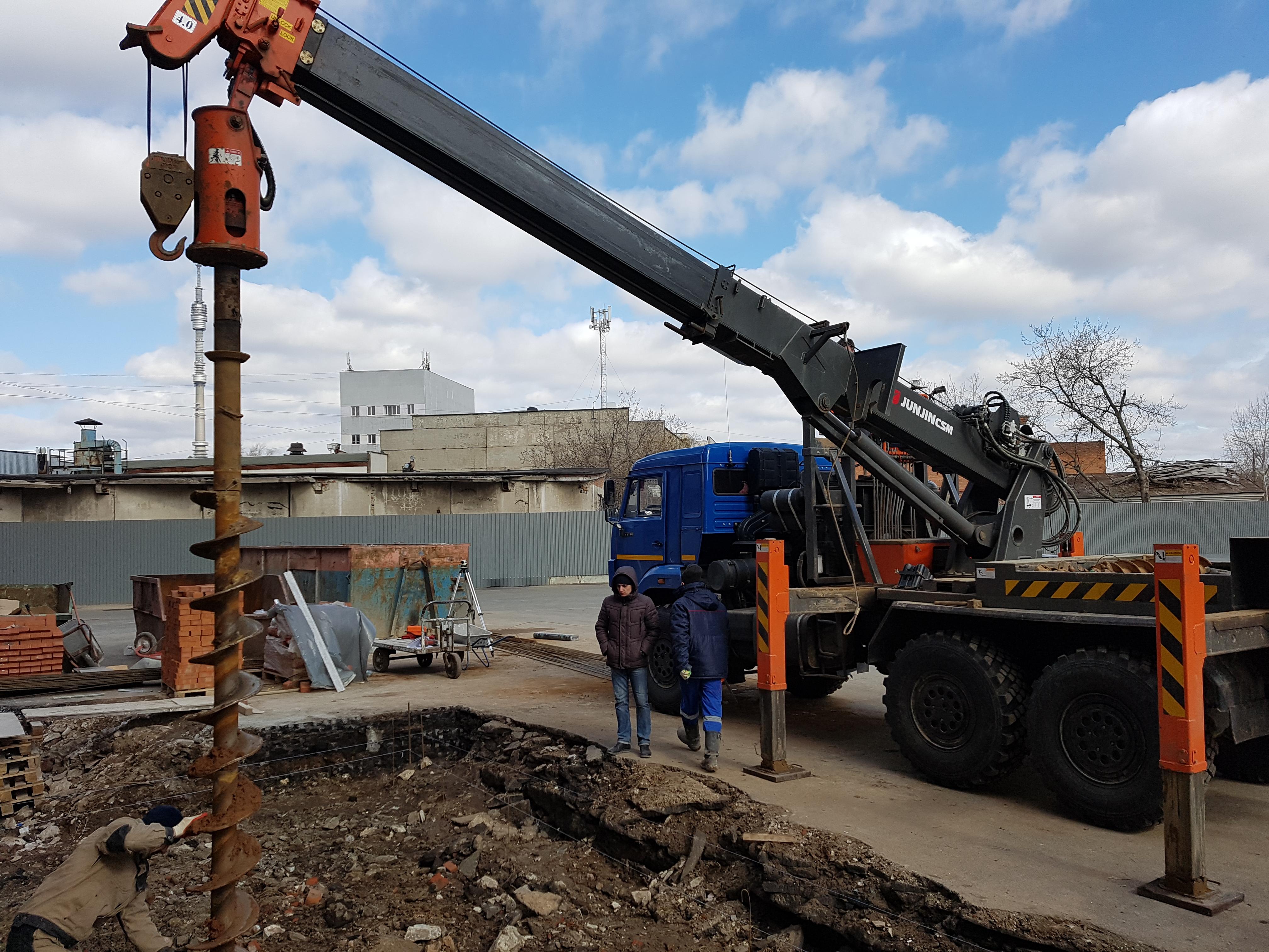 Аренда Ямобур на базе КАМАЗ 4310 (12м)