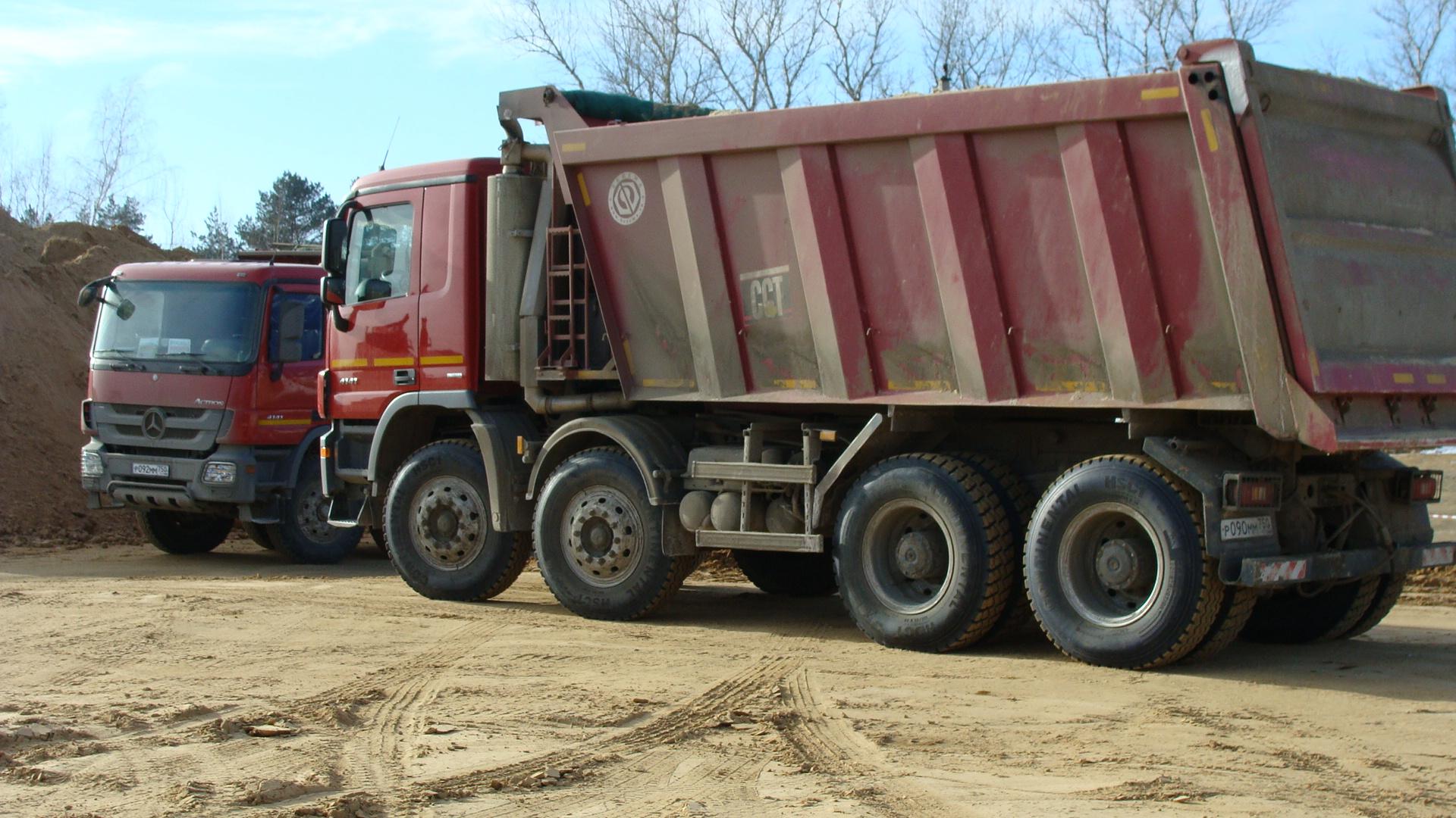 Аренда Самосвал Scania P380