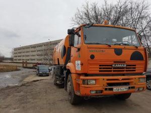 Аренда поливомоечной машины на базе Камаз evroplus.moscow