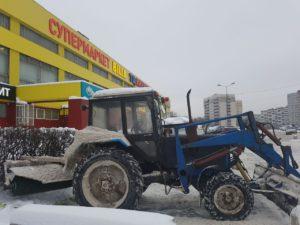 Уборка территории от снега evroplus.moscow